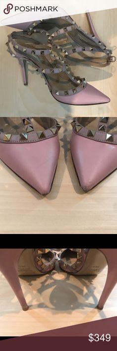 Valentino Pink Rockstud Pumps Pink Valentino Rockstud Pumps with dust bags! Valentino Shoes Heels