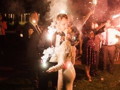 One of the most popular trends in bride and groom exits today is the sparkler exit. When these photos turn out, the result can be stunning. Taken poorly, and the exit photos (quite literally) can go up in flames.  We've taken advice from our photographers in the field, and done our research to come up with a few tried and true tips for making your sparkler exit photos maintain their wedding day magic. Thank you to all the photographers in ourMastin Labs – Community Facebook group!