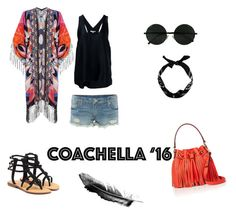"""""""# bestofcoachella"""" by krismonet ❤ liked on Polyvore featuring Helmut Lang, True Religion, Mystique, New Look and Milly"""