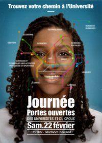 Journée Portes Ouvertes : 22 février 2014 - université Blaise Pascal Clermond Ferrand + université d'Auvergne + Crous.
