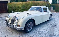 The owner of this 1960 Jaguar XK150 Fixed-Head Coupe has treated it to a meticulous restoration. It has to be seen to be appreciated. #Jaguar, #XK150