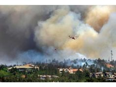 The first evacuations started hours before - Sunday June 24th