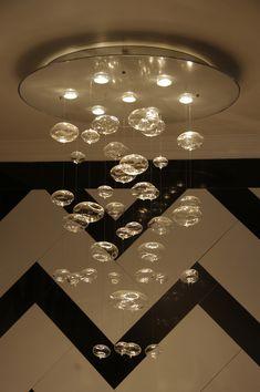 Bubble Chandelier Lamp Design