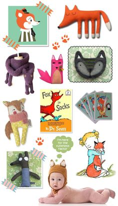 Handmade fox toys, knits and accessories for kids | KID independent – handmade for kids