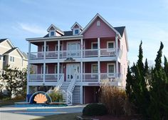 Raspberry Duck | Duck Vacation Rental | Duck Landing Outer Banks