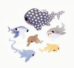 Some shark pals