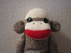 Mon-chan The Sock Monkey