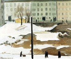 Spring in Helsinki by Eero Nelimarkka