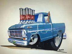 Kool Ford F100...