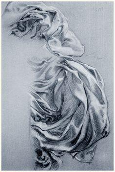 Study for Juno's Cloak in Prospero    Herbert James Draper