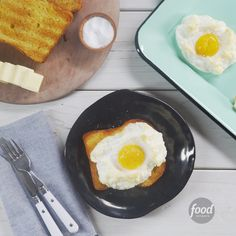 Recipe of the Day: Baked Cloud Eggs Move over, poached. So long, over-easy. There's an even happier way to serve eggs: in nests! Eat these puffy whipped egg whites with a sunshine yolk center on toast for the perfect start to your day.