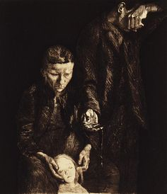 Käthe Kollwitz, The Downtrodden, 1900