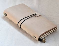 Personalized, travel journal, travel notebook, leather journal, (free stamp)