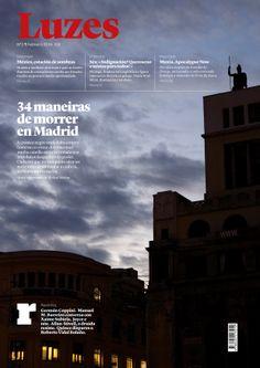 Luzes nº 3. Febreiro de 2014. Fotografía: José Manuel Navia. Deseño e maquetación: Antonio Doñate e Xosé Carlos Hidalgo.
