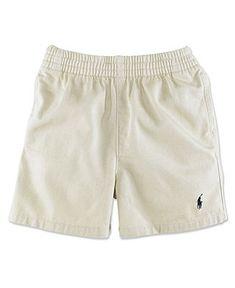 Ralph Lauren Baby Shorts, Baby Boys Twill Sport Shorts - Kids Newborn Shop - Macy's