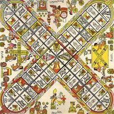 Patolli is an ancient Mesoamerican game. One has recently been discovered at a Maya site in Campeche. It's similar to Ludo or Pachisi (Parcheesi) in play. Old Board Games, Vintage Board Games, Old Games, Game Boards, Wood Carving For Beginners, Board Game Design, Indoor Games, Tabletop Games, Archaeology