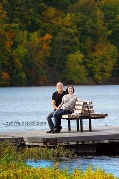 Family photos taken at Lake Olathe, Fall Olathe, KS is a suburb of Kansas City.
