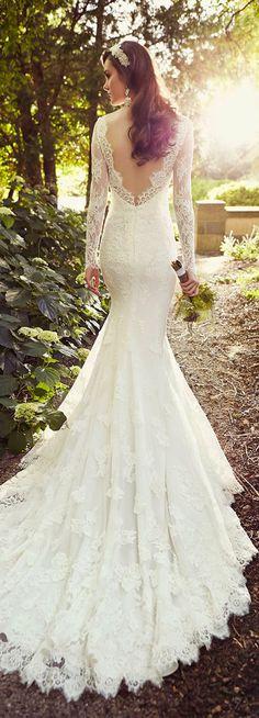 essense of australia vintage lace wedding dresses