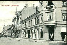 Østfold fylke Fredrikstad Storgaten Utg Küenholdt tidlig 1900-tall