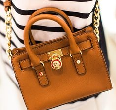 Michael Kors Mini Hamilton bag...LOVE! Michael Kors Stores 386632a26270b