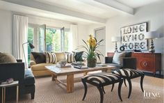 Collected and Curated Houston Living Room