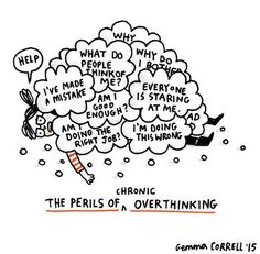 Artist illustrates what it's like to live with anxiety and depression | Dangerous Minds