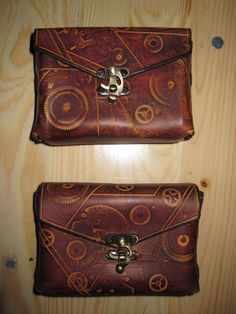 Steampunk belt bag by akinra-workshop