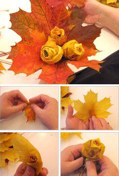 bouquet de feuilles mortes