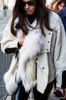 Street Style Paris Fashion Week Dior Haute Couture SS17