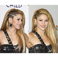 I am totally thinking of doing these half-cornrows when my hair is a bit longer!