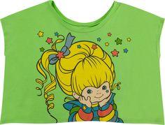Rainbow Brite Cropped Shirt