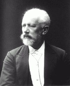 Peter I. Tchaikovsky in 1893.