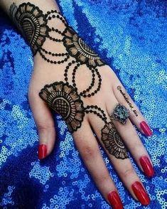 📌 easy to make mehndi design 2019 & beautiful henna new design Back Hand Mehndi Designs, Mehndi Designs Book, Mehndi Designs 2018, Mehndi Design Pictures, Mehndi Designs For Girls, Unique Mehndi Designs, Henna Designs Easy, Mehndi Designs For Fingers, Beautiful Mehndi Design