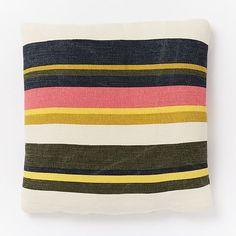 Outdoor Multi Stripe Pillow | west elm
