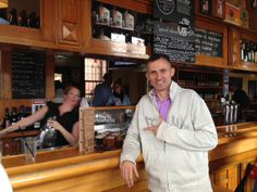 Robert (ceo and founder of Gift Of The Month Clubs) at the Holgate Brewhouse bar