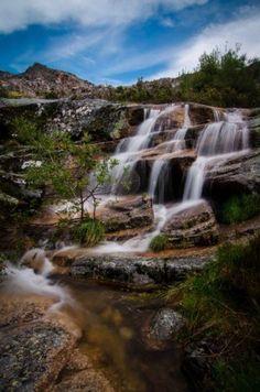Serra da Estrela Natural Park, Portugal #waterfall #travelphotography