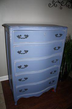 Basset vintage repurposed dresser by Redeemed Furnishings in Crown
