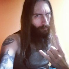 Got #tagged by for #sds by the lovely @princesslibrakitty  #beard #bearded #rocker #rockers #longhair #longbeard #longhairdontcare  #tattoos #ink #inked #tattoo #tattooed #longbearddontcare #statenisland #nyc #metalhead #weirdo #freak #musicians #musician #weirdos #oddball #selfie #selfies #metal #hornsup #metalselfie by rebel_angel138