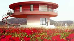 Sunhouse 360º, which can turn a full circle, is billed as the first intelligent rotating house.