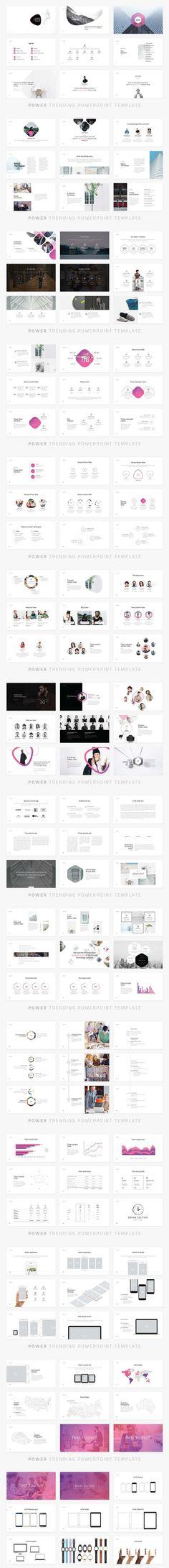 POWER : un template PowerPoint de plus de 120 slides