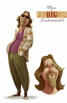 ArtStation - The Big Lebowski, Derek Stratton Character Design Animation, Character Creation, Character Design References, Character Concept, Character Art, Concept Art, The Big Lebowski, Tim Walker, Creature Design