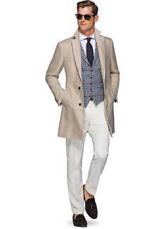 Light Brown Overcoat J432   Suitsupply Online Store