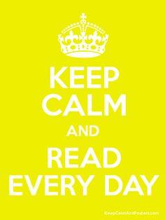and read every day / e leia todo dia