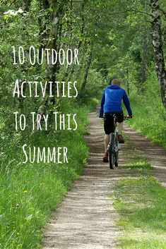 Summer is upon us, but no need to sit inside and wait for cooler days! Instead try these outdoor activities this summer to get out there, get active, and having fun! Fun outdoor activities right around the. Exercise Activities, Wellness Activities, Activities To Do, Therapy Activities, Outdoor Activities For Adults, Outside Activities, Outdoor Workouts, Fun Workouts, Fun Places To Go