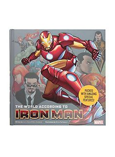 <p>Whether it's juggling girlfriends, battling super-villains, or running a billion-dollar business, Tony Stark, aka Iron Man, is always close to the action. In The World According to Iron Man, Stark reveals the secrets of his Super Hero multitasking with insider tips on running Stark Industries, a step-by-step guide to building an Iron Man suit, pointers on dealing with despots like the Mandarin, and much, much more. Filled with original illustrations, The World According to Iron Man ...