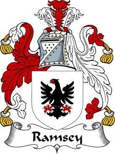 ramsey coat of arms from the website  www.4crests.com #coatofarms #familycrest #familycrests #coatsofarms #heraldry #family #genealogy #familyreunion #names #history #medieval #codeofarms #familyshield #shield #crest #clan #badge #tattoo