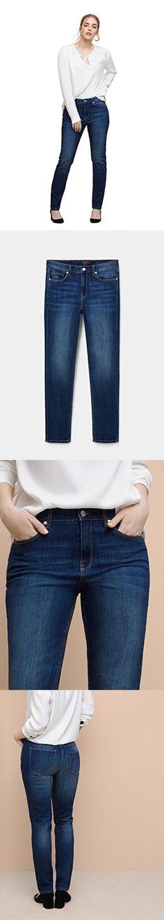 dd80d5ac29f1 Violeta By Mango Women s Plus Size Slim-Fit Push Up Mariah Jeans ...