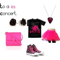 """r5 concert"" by beccagz on Polyvore-- I made this R5 concert outfit!!!"