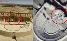 ISIS zdemoloval v Palmýře starobylé římské divadlo. Zkázu památek odhalilo video
