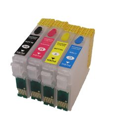 [Visit to Buy] T1281 refillable ink cartridge for epson Stylus S22 SX125 SX130 SX230 SX235W SX420W SX425W SX430W SX435W SX438W SX440W SX445W #Advertisement